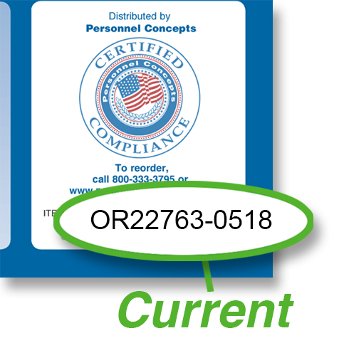 Oregon  Compliance  Checklist
