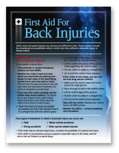 first-aid-for-back-injuries-poster