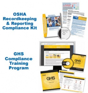 OSHA  Recordkeeping  &  Reporting  Compliance  Kit  &  GHS  Compliance  Training  Program