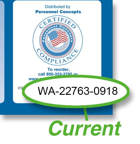 Washington  Compliance  Checklist