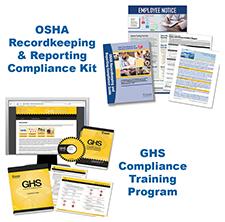 OSHA  Recordkeeping  &  Reporting  Compliance  Kit  &  GHS  Compliance  Training  Program