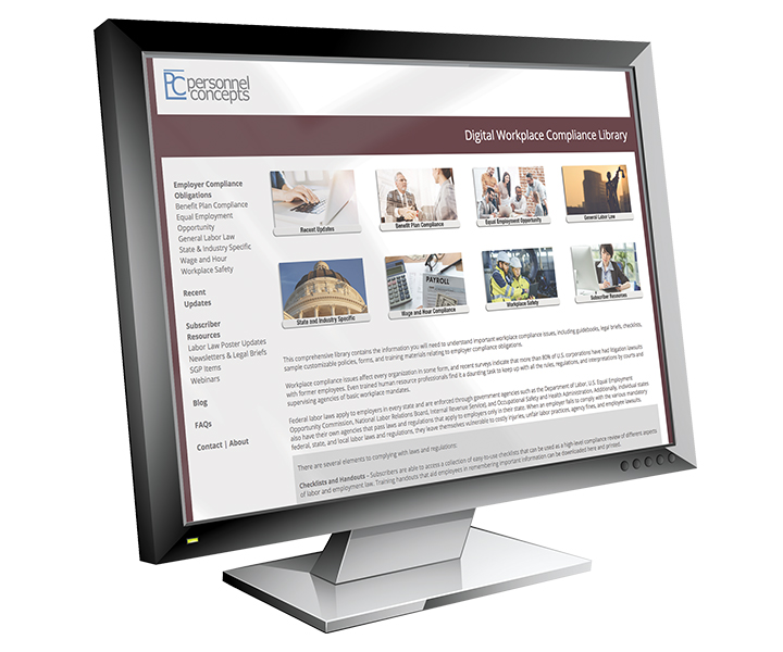 Digital Workplace Compliance Library (DWCL) Online Portal