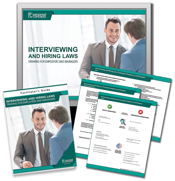 Interviewing & Hiring Laws Training for Employers and Managers