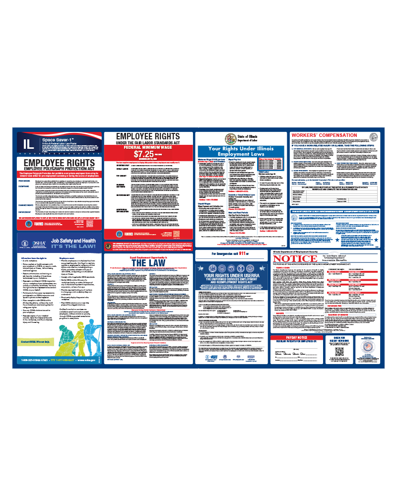 Personnelconcepts Illinois Labor Law Poster