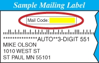 Mailcode Example