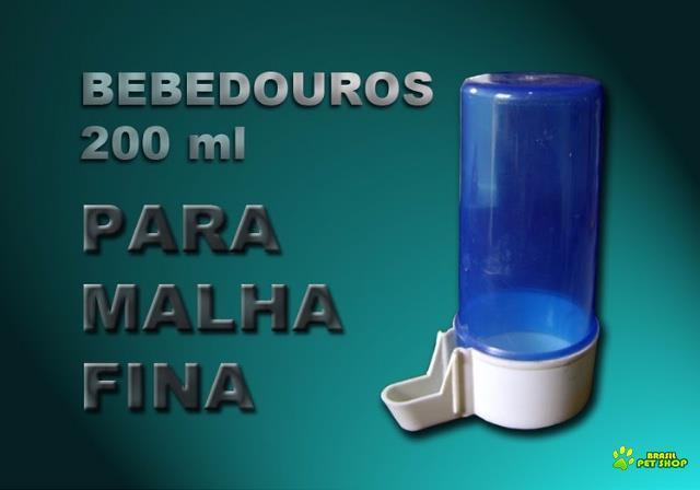 Bebedouro Tipo Italiano 200 Ml Malha Fna