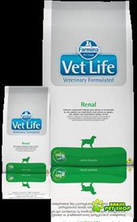 Ração Vet Life Renal 10,1kg - Entrega Em Toda Bh