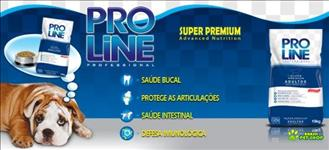 Ração Pro Line Adulto 15kg Super Premium - Professional Advanced Nutrition