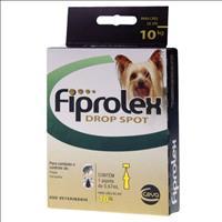 Anti Pulgas e Carrapatos Ceva Fiprolex Drop Spot para Cães até 10 Kg Anti Pulgas e Carrapatos Ceva F