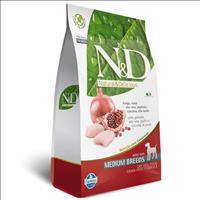 Ração Farmina N & D Grain Free Frango para Cães Filhotes de Raças Médias Ração Farmina N & D Grain F