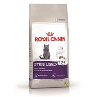 Ração Royal Canin Feline Health Nutrition Sterilised para Gatos Adultos Acima de 12 Anos - 1,5 Kg