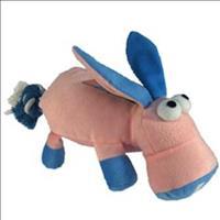 Brinquedo Chalesco Cachorro Luxo para Cães - Rosa com Azul