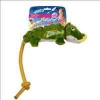 Brinquedo Afp Zinngers Aligátor Flying de Pelúcia com Corda para Cães