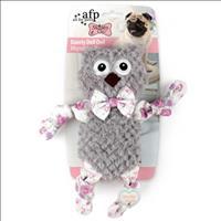 Brinquedo Afp Shabby Chic Boneca Coruja Dainty para Cães