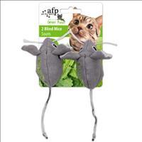 Brinquedo Afp Green Rush Ratos com Catnip para Gatos