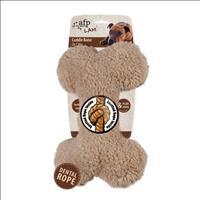 Brinquedo Afp Osso Plush para Cães - Marrom