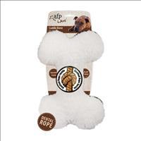 Brinquedo Afp Osso Plush para Cães - Branco