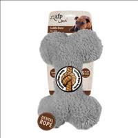 Brinquedo Afp Osso Plush para Cães - Cinza