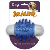 Mordedor Jambo Nylon com Apito para Cães - Azul
