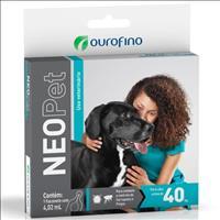 Anti Pulgas e Carrapatos Ouro Fino Neopet 4,02mL para Cães acima de 40 Kg Anti Pulgas e Carrapatos O