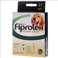 Anti Pulgas e Carrapatos Ceva Fiprolex Drop Spot para Cães de 21 a 40 Kg Anti Pulgas e Carrapatos Ce