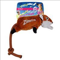 Brinquedo Afp Zinngers Raposa voadora de Pelúcia com Corda para Cães