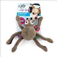 Brinquedo Afp Ultrasonic-Soundproof Aranha de Pelúcia para Cães