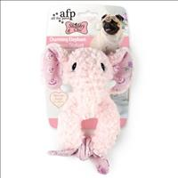 Brinquedo Afp Shabby Chic Elefante Charmoso para Cães