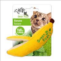 Brinquedo Afp Green Rush Banana com Catnip para Gatos
