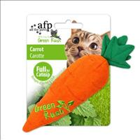 Brinquedo Afp Green Rush Cenoura com Catnip para Gatos