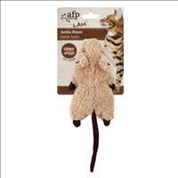 Brinquedo Afp Roedor  com Catnip  para Gatos - Marrom