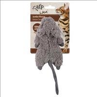 Brinquedo Afp Roedor  com Catnip  para Gatos - Cinza