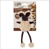 Brinquedo Afp Rato Dangler com Catnip para Gatos - Marrom