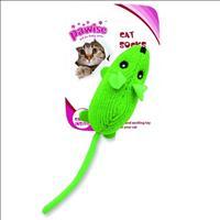 Brinquedo Rato Pawise de Lã para Gatos - Verde