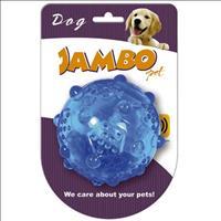 Bola Jambo Sound para Cães - Média Bola Jambo Sound Média para Cães - Azul