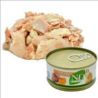 Ração Farmina N & D Úmida de Atum e Salmão para Gatos - 70 g