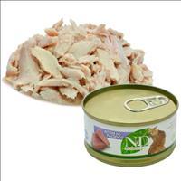 Ração Farmina N & D Úmida de Atum do Pacífico para Gatos - 70 g