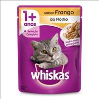 Ração Whiskas Sachê Frango para Gatos Adultos - 85gr