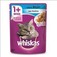 Ração Whiskas Sachê Atum para Gatos Adultos - 85gr