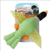 Brinquedo Pássaro Pawise de Nylon e Borracha com Apito - Verde Brinquedo Pássaro Pawise de Nylon e B