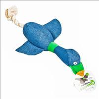 Brinquedo Duki Quacks com Corda Escuro - Azul