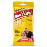 Biscoitos Baw Waw Tradicional para Cães - 50 g