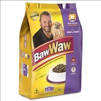 Ração Premium Baw Waw sabor Carne e Frango para Raças Pequenas e Raças Medias - 3 Kg