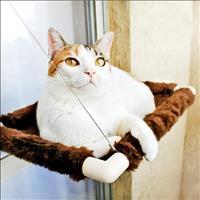 Cama Catbed Gatton para Gatos Pelúcia - Marrom