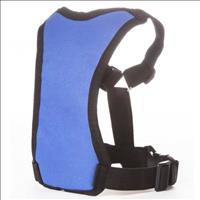 Coleira Peitoral Tubline com Guia Pet Walk - Azul Coleira Peitoral Tubline Pet Walk Azul - Tam. P