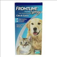 Anti Pulgas e Carrapatos Frontline Spray para Cães e Gatos - 500 mL
