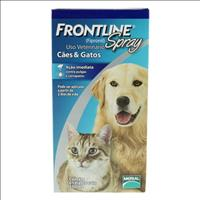 Anti Pulgas e Carrapatos Frontline Spray para Cães e Gatos de 250 mL Anti Pulgas e Carrapatos Frontl