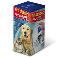 Anti Pulgas e Carrapatos Frontline Spray para Cães e Gatos de 100 mL Anti Pulgas e Carrapatos Frontl