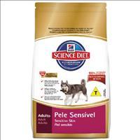 Ração Hills Science Diet Canino Adulto Pele Sensível Pedaços Pequenos - 7,5 Kg