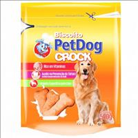 Biscoito Pet Dog Crock - 500 g